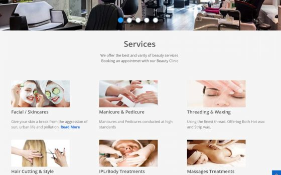 Singhar Beauty Main Services