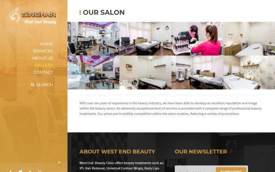 westend beauty salon