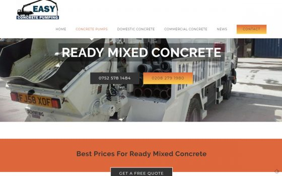 readymixed concrete