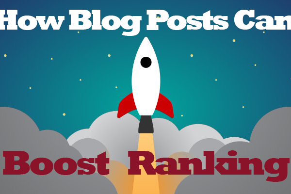 blog posts boost ranking