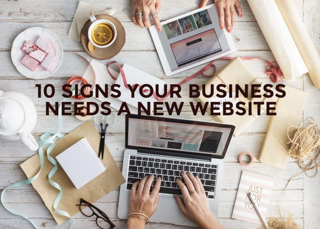 business needs new web design