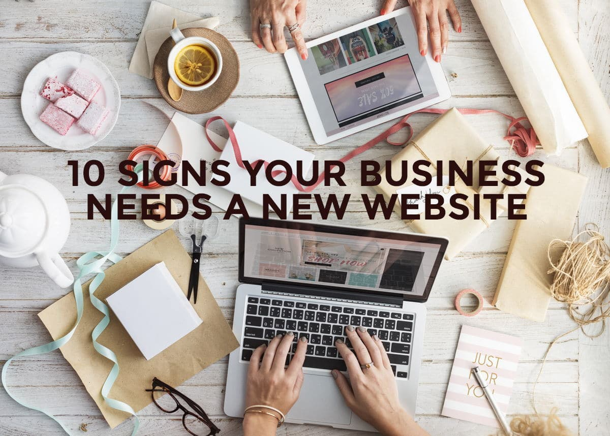 business needs new web design
