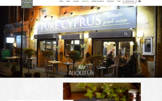 Pure Cyprus About US Page