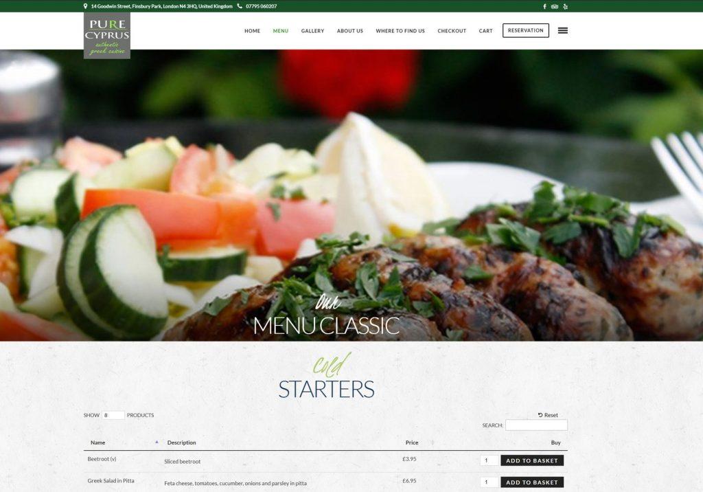 Online Takeaway Restaurant