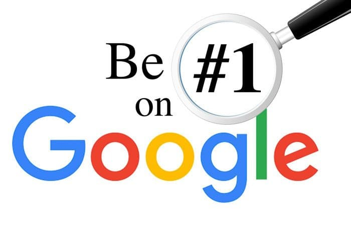 Be first on Google